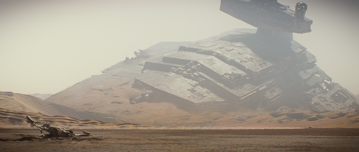 Crashed Star Destroyer